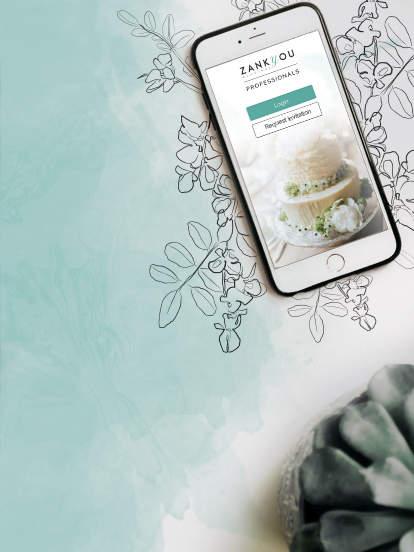 Consigue la app de Zankyou para tu negocio, disponible en las plataformas de Android y iPhone.