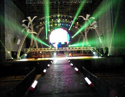 Ct Mix Audio e Iluminación